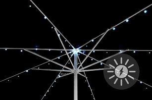 Garthen 36958 Solární blikající řetěz pro osvětlení slunečníku - 72 LED
