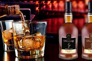 Výběr lahodných rumů Hacienda Monterrey
