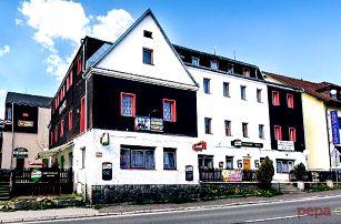 3 nebo 4denní pobyt pro 2 se snídaní či polopenzí v hotelu Slávie na Šumavě