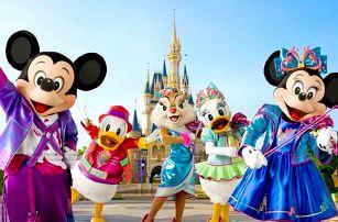 Zájezd do Disneylandu - magický víkend