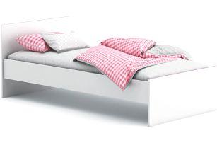SVITCH, postel 90x190 cm, bílá/růžová nebo modrá
