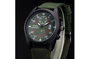 Pánské náramkové hodinky s kalendářem