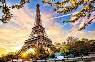 4denní zájezd do kouzelné Paříže s ubytováním a snídaní pro 1