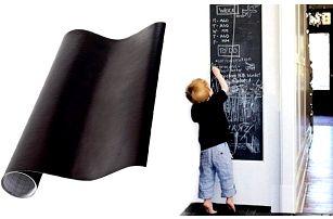 Samolepící vinylová tabule na křídy ve dvou rozměrech