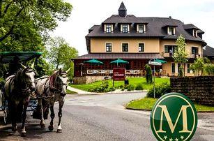 Wellness pobyt pro 2 osoby na 5 dní v luxusním Golf hotelu Morris****. Snídaně, večeře a procedury.