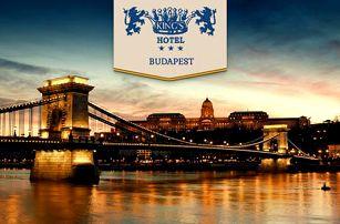 Královská Budapešť s ubytováním v centru pro 2 osoby + 2 děti do 12 let zdarma