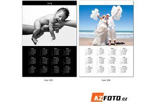 Velké nástěnné fotokalendáře na rok 2017