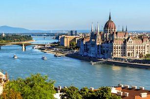 3 nebo 4denní pobyt se snídaněmi v hotelu Polus*** v Budapešti pro 2 osoby