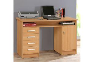 NET106, psací stůl MT931, buk samerberg