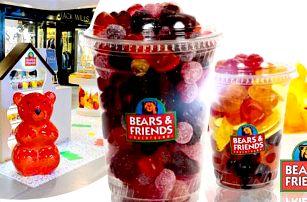 Želé bonbóny s ovocnou šťávou: 500g balení na cestu, osobní odběr v Praze