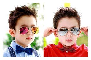 Dětské sluneční brýle Pilotky - VÝPRODEJ