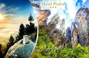 Adršpach, Broumov na podzim: 3-6 dní pro dva s polopenzí a zmrzlinou v Hotelu Praha***