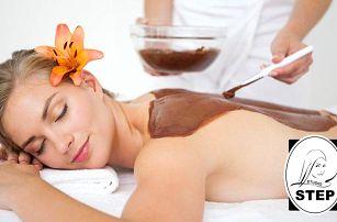 120minutový relaxační balíček s kosmetikou a masáží v Praze ve studiu Step