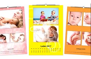 Nástěnný fotokalendář na rok 2017