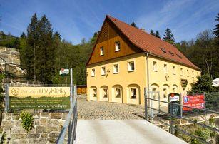 3 až 5denní pobyt pro 2 s polopenzí v penzionu U Vyhlídky v Českém Švýcarsku