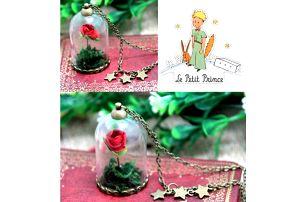 Náhrdelník Růže Malý Princ
