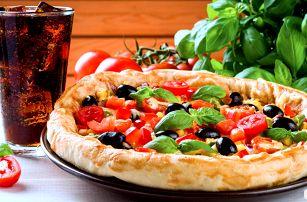 Křupavá pizza a nápoj dle výběru od Kebabýka
