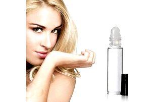 Koncentrovaný olejový parfém - balení s kuličkou do kabelky 10 ml, výběr z 21 vůní.