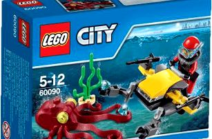 LEGO® City Deep Sea Explorers Potápěčský hlubinný skútr