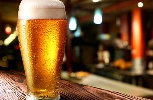 2x pivo Gambrinus v restauraci Na Závisti