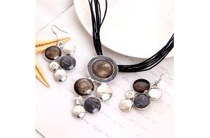 Sada barevných šperků - 6 variant