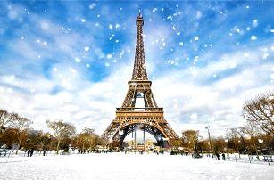 4denní adventní zájezd do Paříže a Versailles včetně ubytování se snídaní