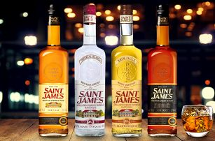 Prvotřídní karibské rumy z ostrova Martinik