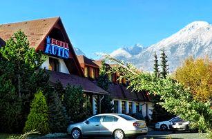 3–6denní pobyt pro 2 s polopenzí, saunou a fitness v hotelu Autis*** v Tatrách