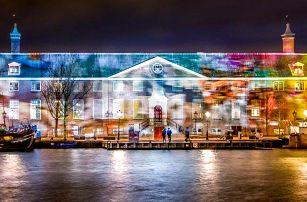 4denní zájezd do rozzářeného předvánočního Amsterdamu se světelnou show pro 1