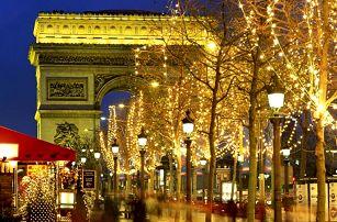 Adventní Paříž 2016 s ubytováním v hotelu