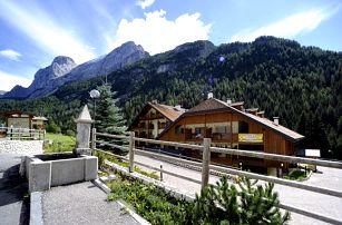 Itálie - Val di Fassa e Carezza na 11 dní, bez stravy s dopravou vlastní