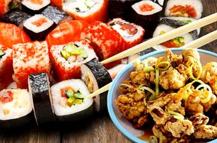 Až 50% sleva na veškerá jídla z jídelního lístku v restauracích Xin Dong Hai