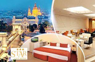 Budapešť, Maďarsko na 3 až 4 dny pro dva ve 3* hotelu se snídaněmi + děti do 12 let zdarma