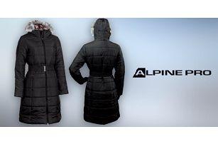 Hřejivý dámský zimní kabát Alpine Pro