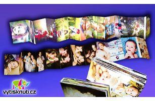 Originální leporelo na kvalitním papíře z 24 vašich fotografií