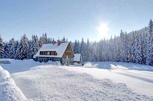 Zima v Jizerkách pro dva s polopenzí a saunou