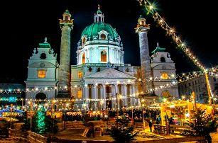Celodenní zájezd na adventní trhy do Vídně s prohlídkou města pro 1
