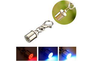 LED přívěsek na psí obojek i klíče - dodání do 2 dnů