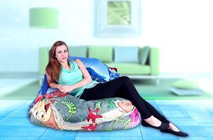 BeanBag Designový sedací vak 189x140 sea