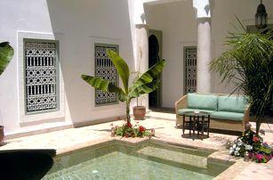 Maroko - Marrákeš na 8 až 12 dní, snídaně s dopravou letecky z Prahy