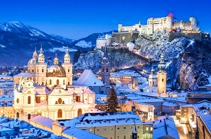 1denní adventní zájezd do rakouského Salzburgu pro 1 osobu
