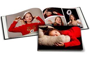 Fotokniha A4 v tvrdých deskách - 40, 60 nebo 80 stran, možnost osobního odběru zdarma