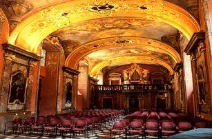Gala koncerty v Zrcadlové kapli Klementina