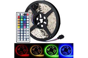 LED svítící pásky pro dekoraci s dálkovým ovládáním - dodání do 2 dnů