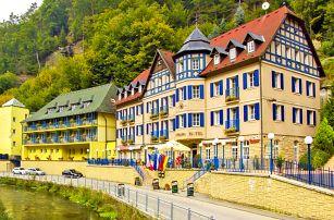 České Švýcarsko pro DVA s polopenzí v komfortním 4* Hotelu Praha