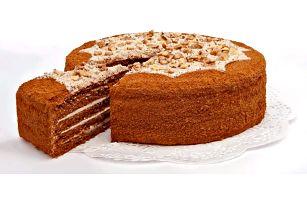 1600g lahodný medový dort pro celou rodinu