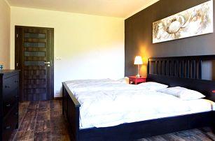 7 nocí v luxusních apartmánech chaty Švadlenka