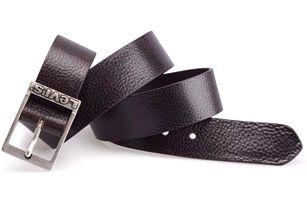 Pánský pásek - AB16176 Tmavě hnědý
