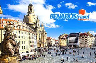 Německo, Drážďany: památky a nákupy v PRIMARKU - 1denní zájezd pro 1 osobu s dopravou z Prahy
