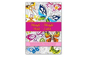 Antistresové omalovánky - Motýli - dodání do 2 dnů